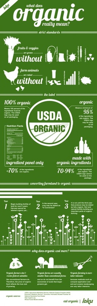 Explaining organic food label